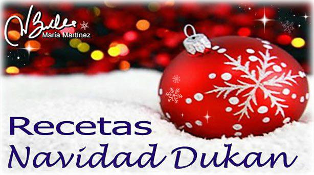 Menú Navidad Dukan 2013
