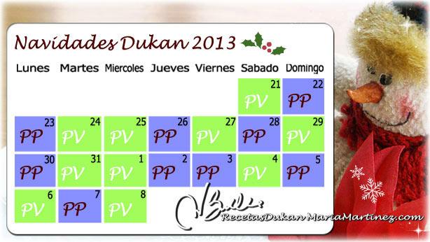 Navidades Dukan: menú, consejos y trucos