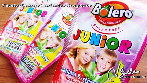 Bebidas Bolero sin azúcar, aptas para la dieta Dukan desde Ataque