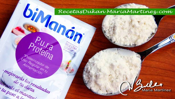 PURA Proteína biManán: Packs de Muestras listos para enviar (Sorteo Recetas Dukan)