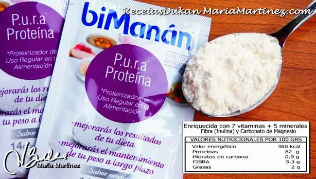 BiManán Pura Proteína: apta Dukan desde fase Ataque