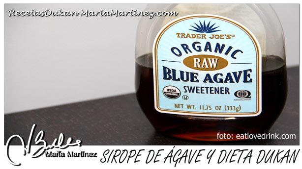 Sirope de Ágave y dieta Dukan: NO apto en Ataque y Crucero