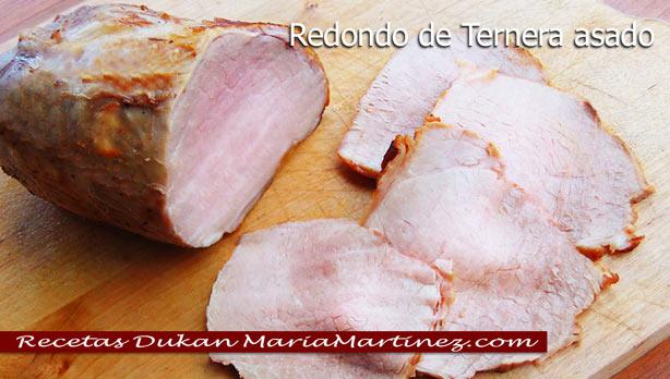 Redondo de Ternera Asado Dukan, en olla GM o en horno {dieta Dukan, fase Crucero}