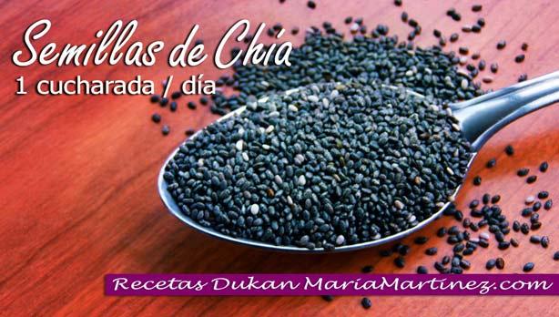 Semillas de Chía dieta Dukan