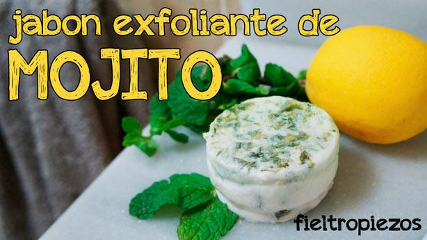 Jabones y Exfoliantes Caseros: jabón exfoliante de mojito