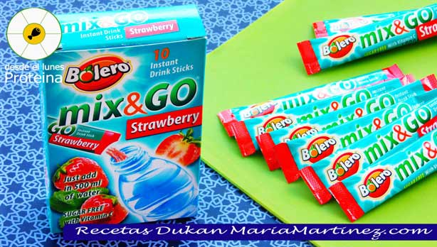 Bebidas Bolero Recetas dieta Dukan