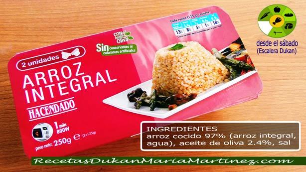Arroz Integral Dieta Dukan:  para la Nueva dieta Dukan o para consolidación