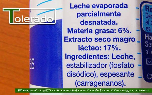 leche evaporada marcas: