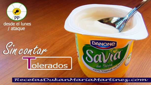 Yogur de Soja apto dieta Dukan desde Ataque