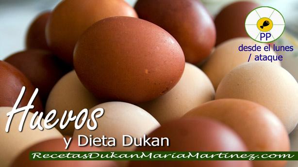 Huevos y dieta Dukan ¿qué cantidad puedo tomar al día?