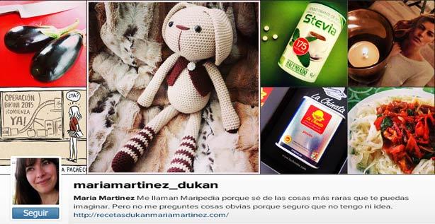 Maria Martinez Dukan en Instagram