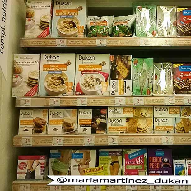 Comprar pasta Dukan en Alcampo, Hipercor y Carrefour (no, en Mercadona no tienen fideos de konjac Dukan)