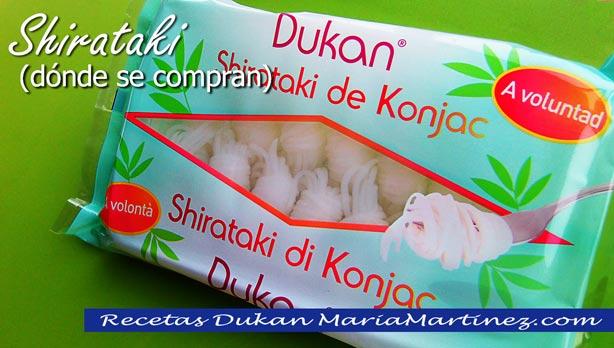 Fideos Dukan de Konjac SECOS, aptos desde fase Ataque:  qué son, dónde se compran, cómo distinguir los auténticos, cómo se preparan