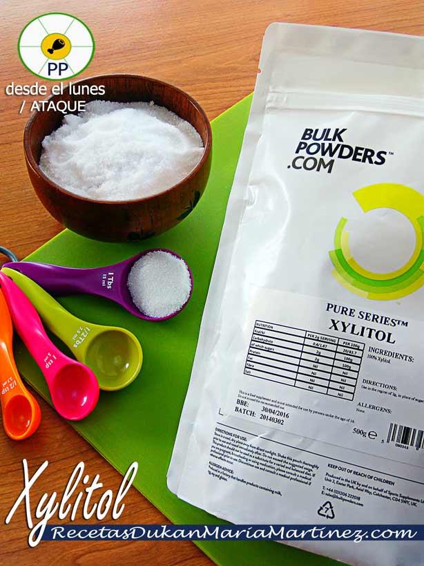 Xylitol, apto dieta Dukan desde fase Ataque
