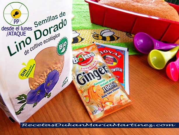 Pan de Linaza, receta para horno (Dukan Ataque) | Recetas