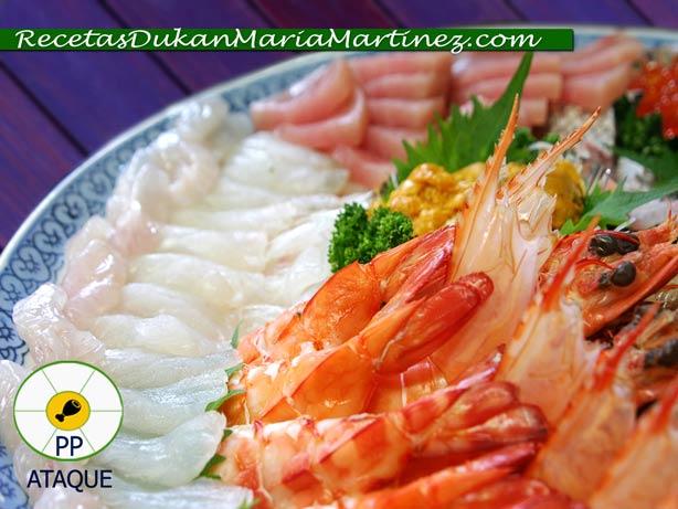 Dieta Dukan, resumen fases: 1, Ataque (2015) Alimentos Permitidos