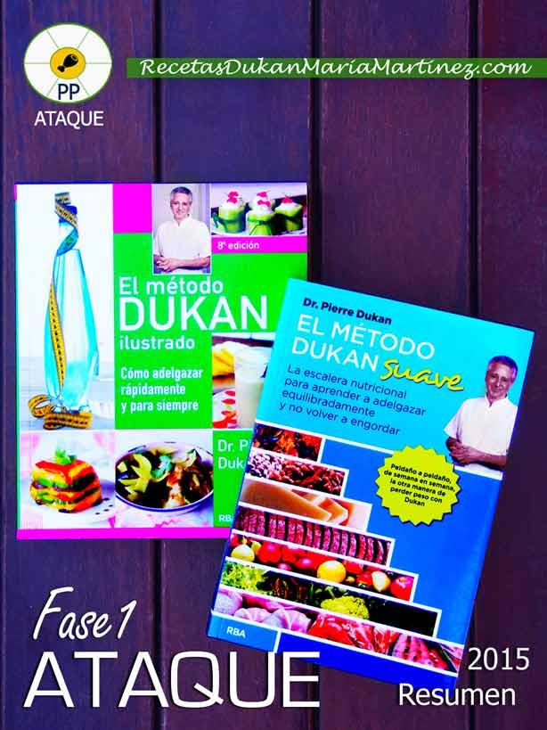 Dieta Dukan, resumen fases 2015 (fase 1, Ataque)
