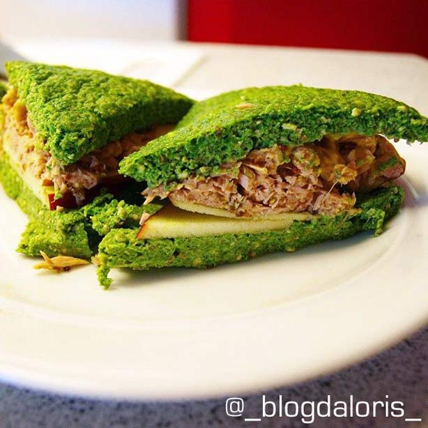 Pan Dukan: pan verde, receta para microondas