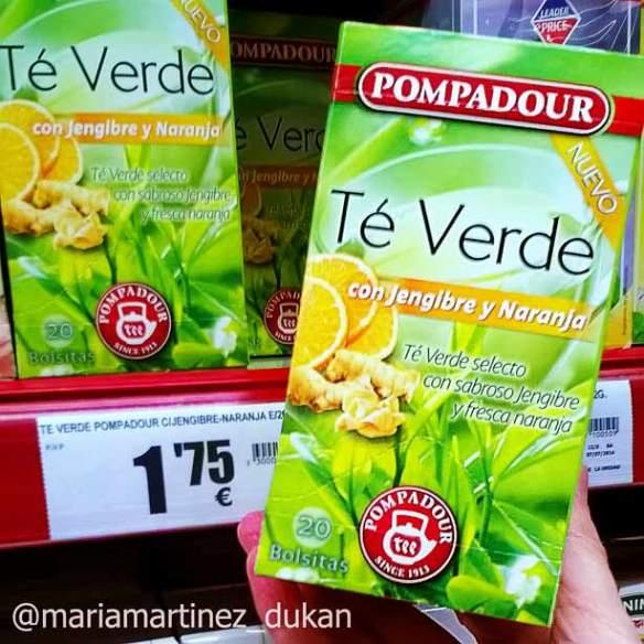 para que sirve el te verde con limon y jengibre