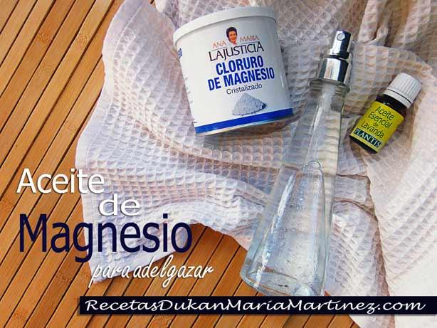 Aceite de Magnesio casero: cómo se prepara, cómo se usa, cómo funciona