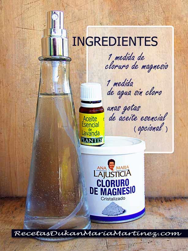 El cloruro de magnesio para bajar de peso