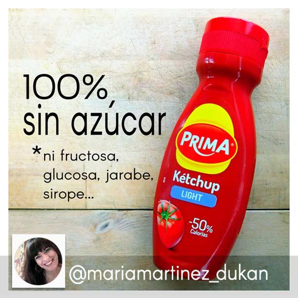 Dieta Dukan en Instagram: ketchup apto Dukan desde fase Ataque