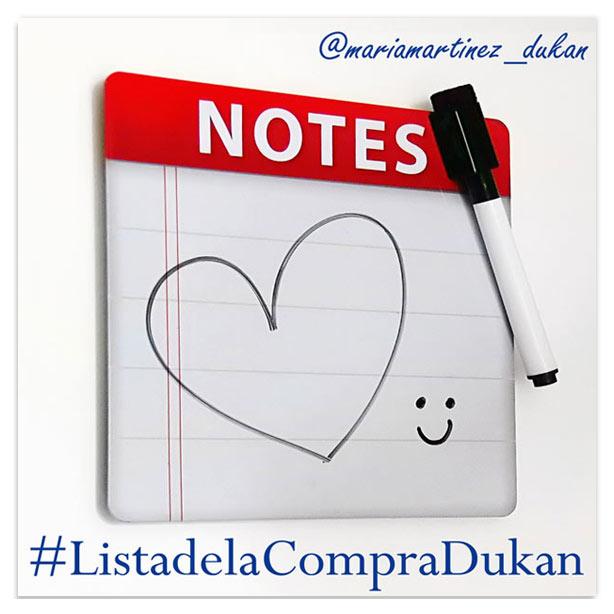 Dieta Dukan en Instagram: lista de la compra Dukan