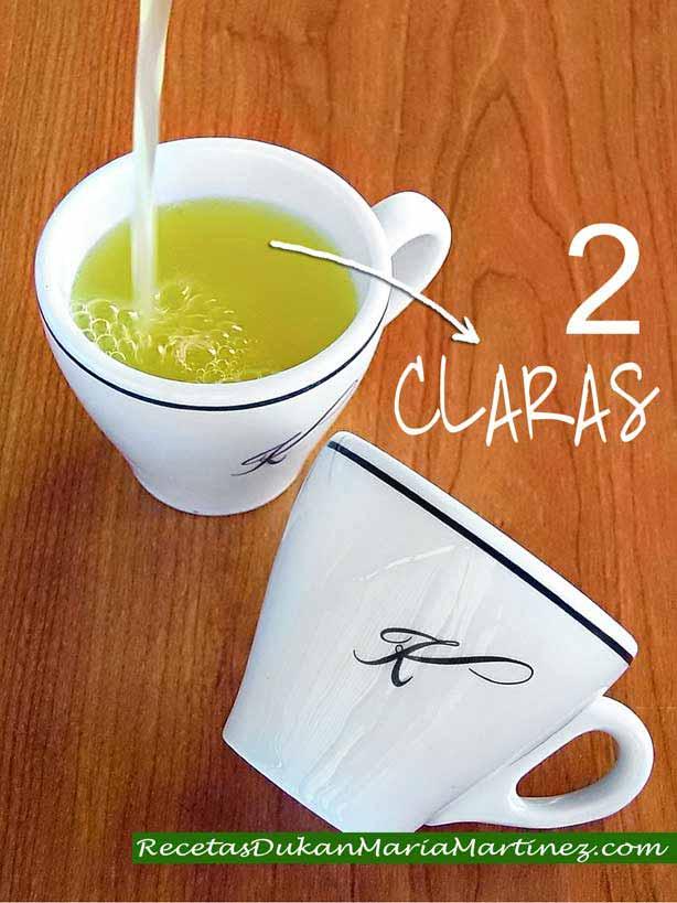 ¿Cómo mido las claras para una receta? Opción 2: usando una tacita para café expresso (1 tacita = 70 ml = 2 claras)