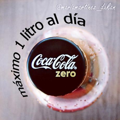 Coca cola zero y dieta Dukan