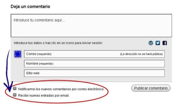 REcibir las respuestas por correo electronico