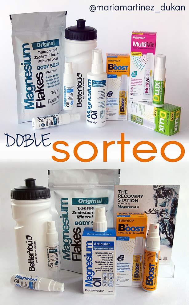 Magnesio para adelgazar (dieta Dukan) SORTEO