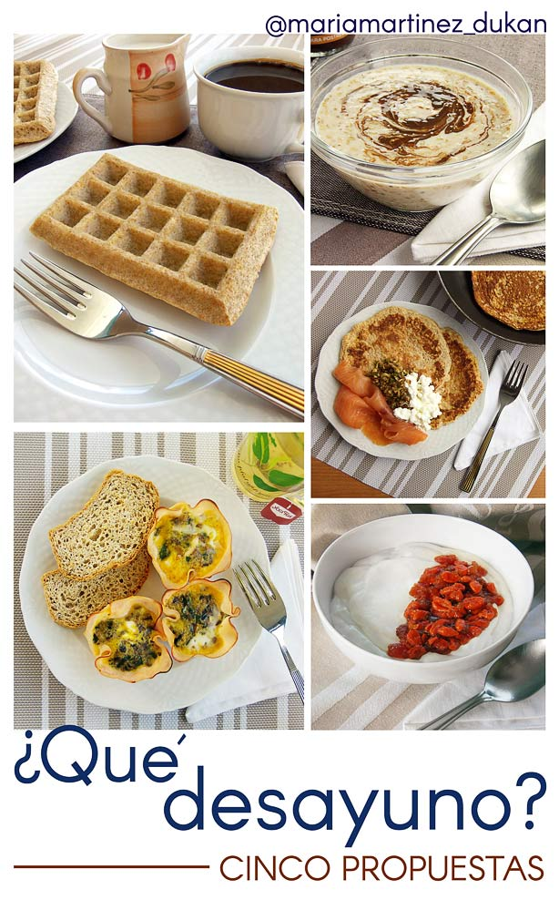 tortitas para desayunar dieta