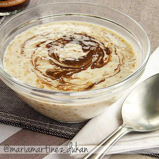 Dieta Dukan, desayunos: Gachas de salvado de avena hechas en frío ( Overnight Oats )